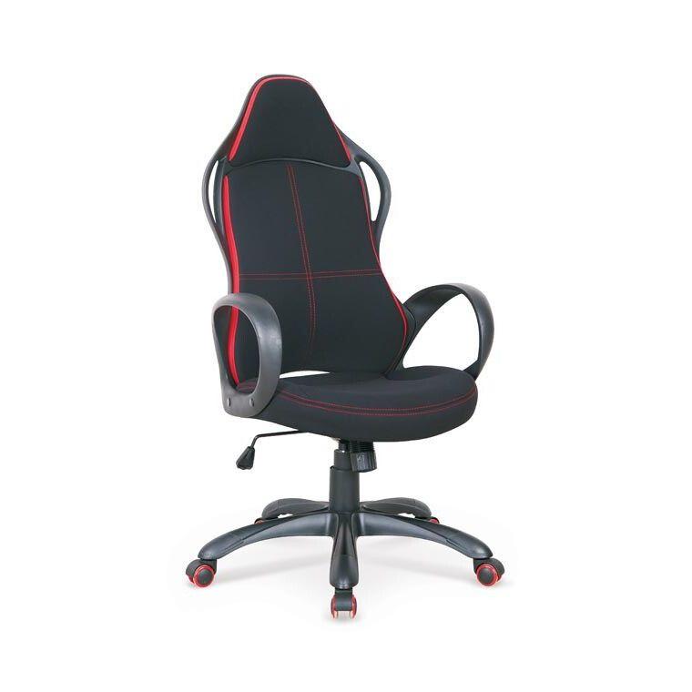 Кресло поворотное Halmar Helix 2   Черный / Красный