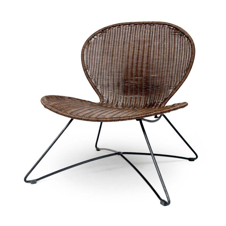 Кресло для сада Halmar Troy | Коричневый