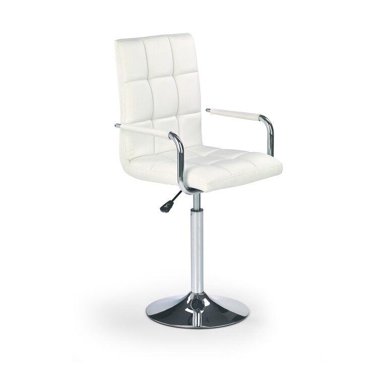 Кресло поворотное Halmar Gonzo | Белый