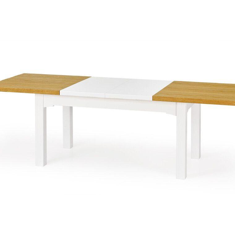 Стол раздвижной Halmar Leonardo | Дуб медовый / белый - 5