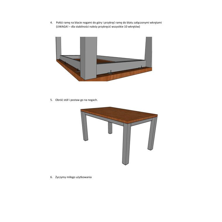 Стол обеденный Signal Imperial | Шпон / 90х150 - 4