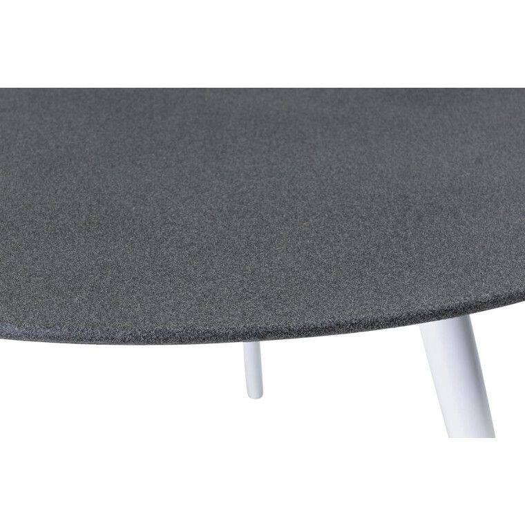 Стол обеденный Signal Evita | Серый / белый - 2