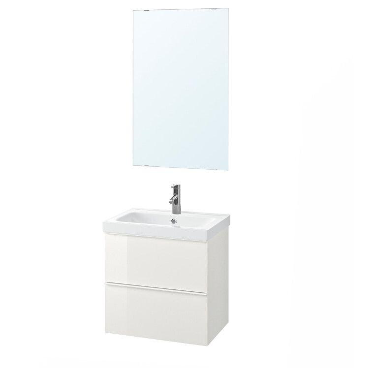 Комплект мебели для ванной GODMORGON / ODENSVIK