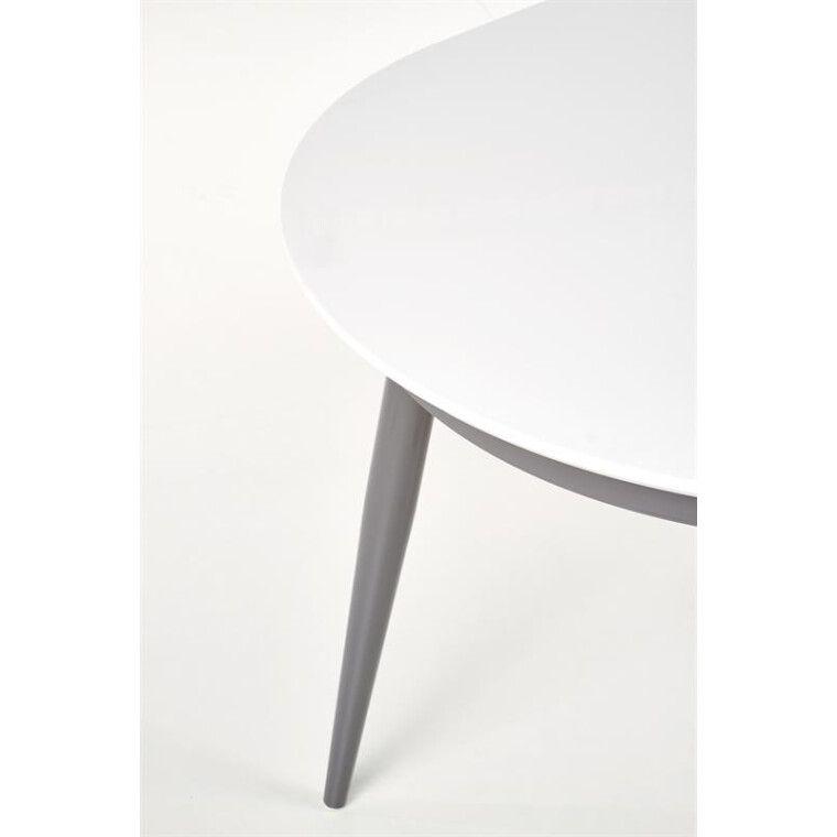 Стол раскладной Halmar Crispin   Белый / серый - 5