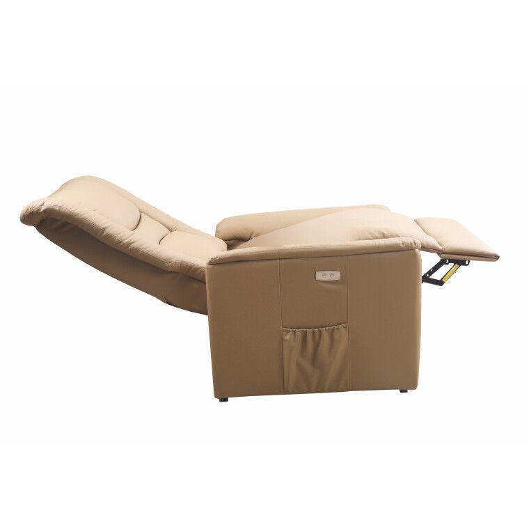 Кресло с подогревом и массажем Halmar Senator | Бежевый - 4