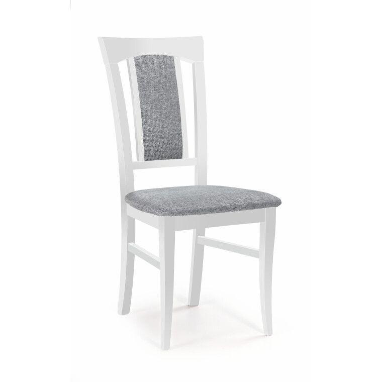 Стілець кухонний Halmar Konrad | Білий / Сірий (Inari 91)