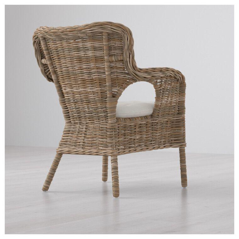 Кресло садовое BYHOLMA - 6